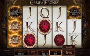 Free slot Game of Thrones