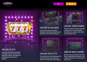 Play Jackpot City for money