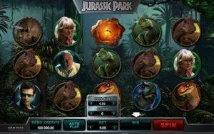 Slot machine Jurassic Park