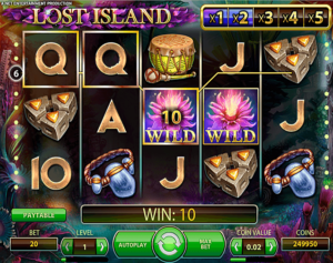 Play slot Lost Island