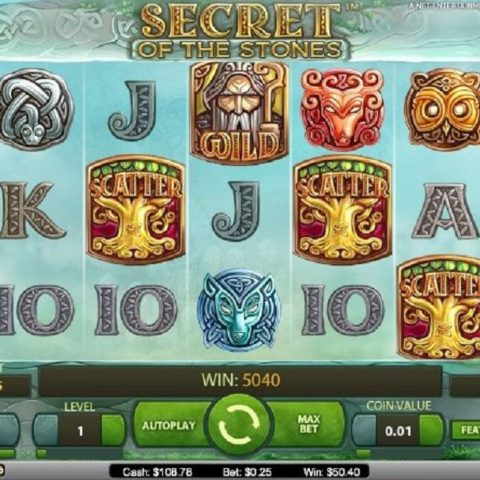 Gameplay Secret of the Stones