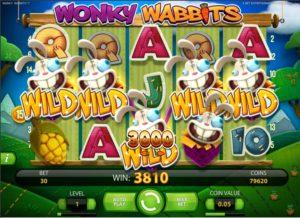 Free slot Wonky Wabbits