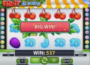 Fruit Shop Slot Machine