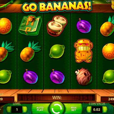 Play slot Go Bananas