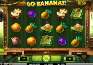 Free slot machine Go Bananas