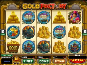 Gold Factory casino game