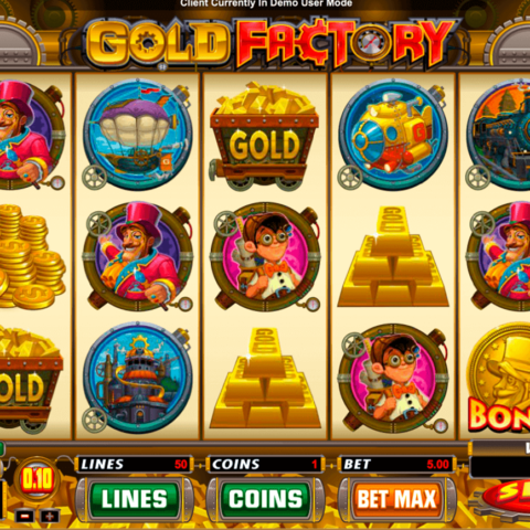 Play free slot Gold Factory