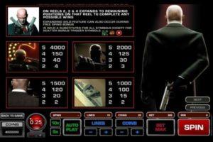 Play slot machine Hitman