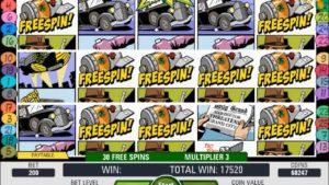 Casino game Jack Hammer