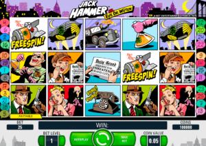 Online slot machine Jack Hammer