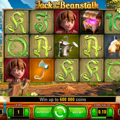 Play slot Jack and the beanstalk