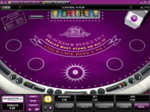 Jackpot city blackjack games