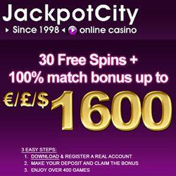 Jackpot city 1600$