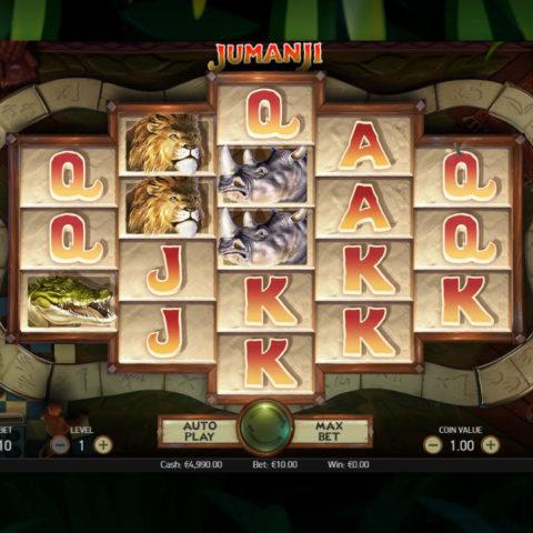 Play Jumanji slot