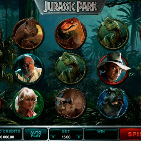 Play slot Jurassic Park