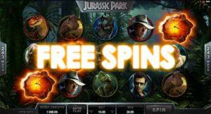 Casino game Jurassic Park