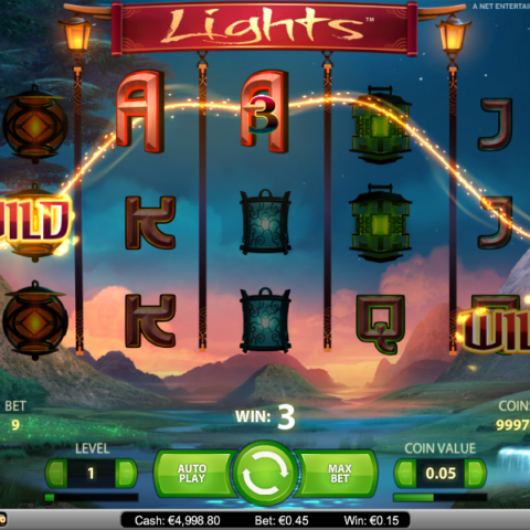 Casino game Lights