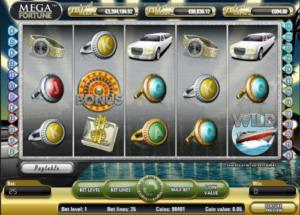 Slot machine Mega Fortune