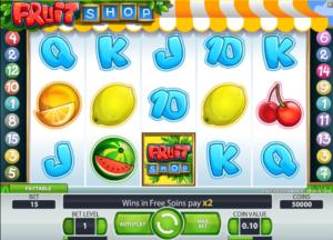 Online game Fruit Shop