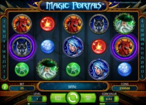 Slot machine Magic Portals