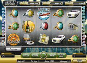New slot game Mega Fortune