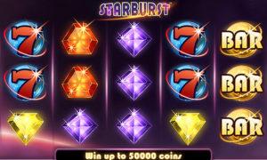 Starburst video slot