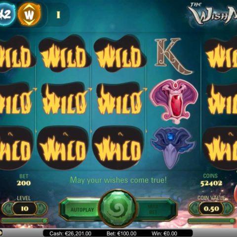 Slot machine The Wish Master