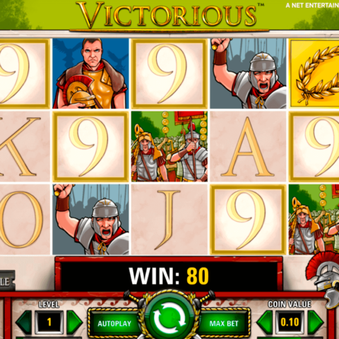 Play slot game Victorious
