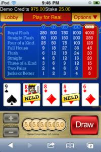 New Jackpot city video poker