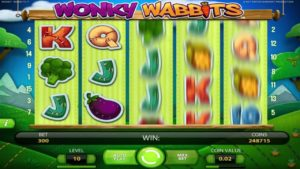New slot Wonky Wabbits